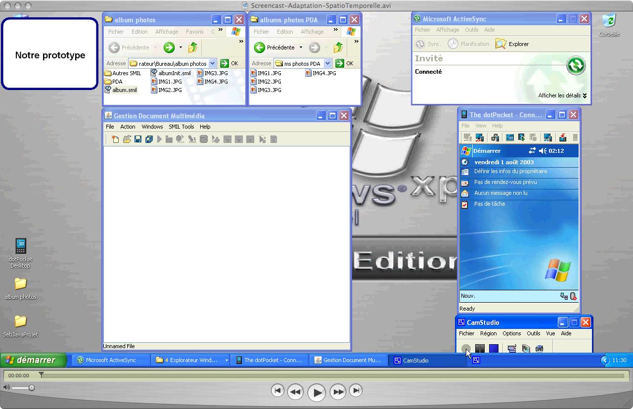 Prototype screencast